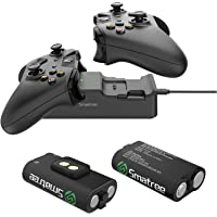 Smatree Controller Charger for Xbox One, Dual Charging Station Compatible with Xbox One/One X/One S/One Elite, High…