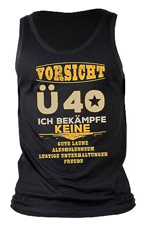 Männer Sprüche 40 Geburtstag Trägershirt Herren