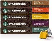 Café Starbucks® em Cápsulas - 50Ud (10 cada tipo)