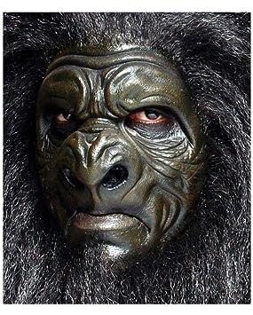 Horror-Shop Máscara de látex de espuma del gorila