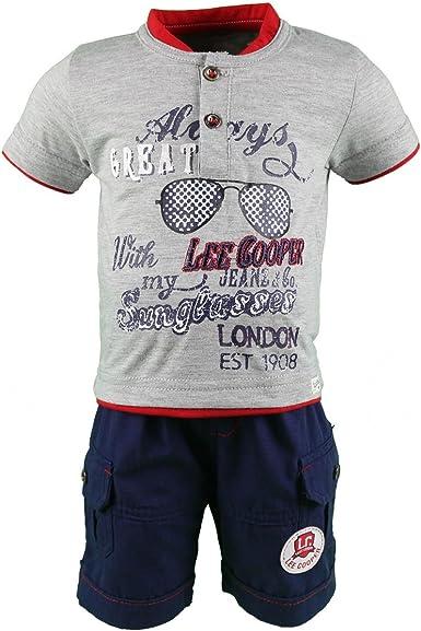 Juntos Pantalones con Camisa manga corta Bebé Niños Lee ...