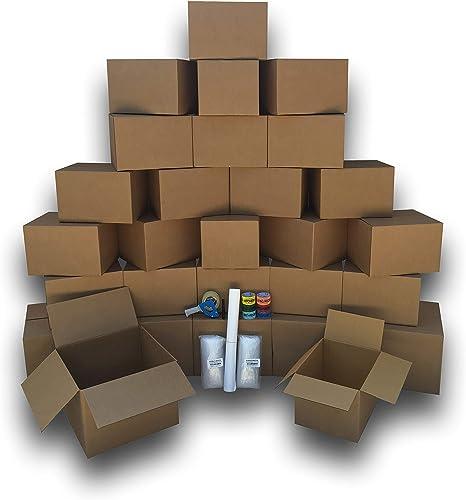 Amazon.com: uboxes Cajas de mudanza – 2 habitación Bigger ...