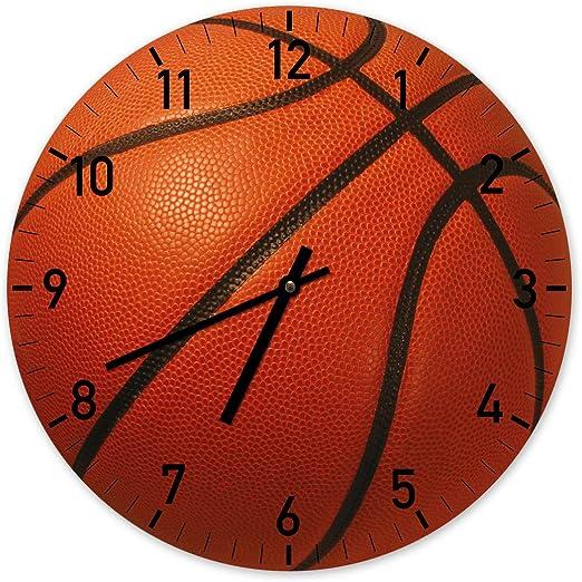 La Pelota de Baloncesto - Exclusivo reloj de pared - 34cm: Amazon ...