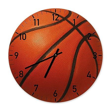 La Pelota de Baloncesto - Exclusivo reloj de pared - 60cm: Amazon ...