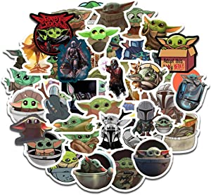 Coslive Cartoon Stickers 50Pcs Waterproof Cartoon Cosplay Costume Accessories for Collection Gift