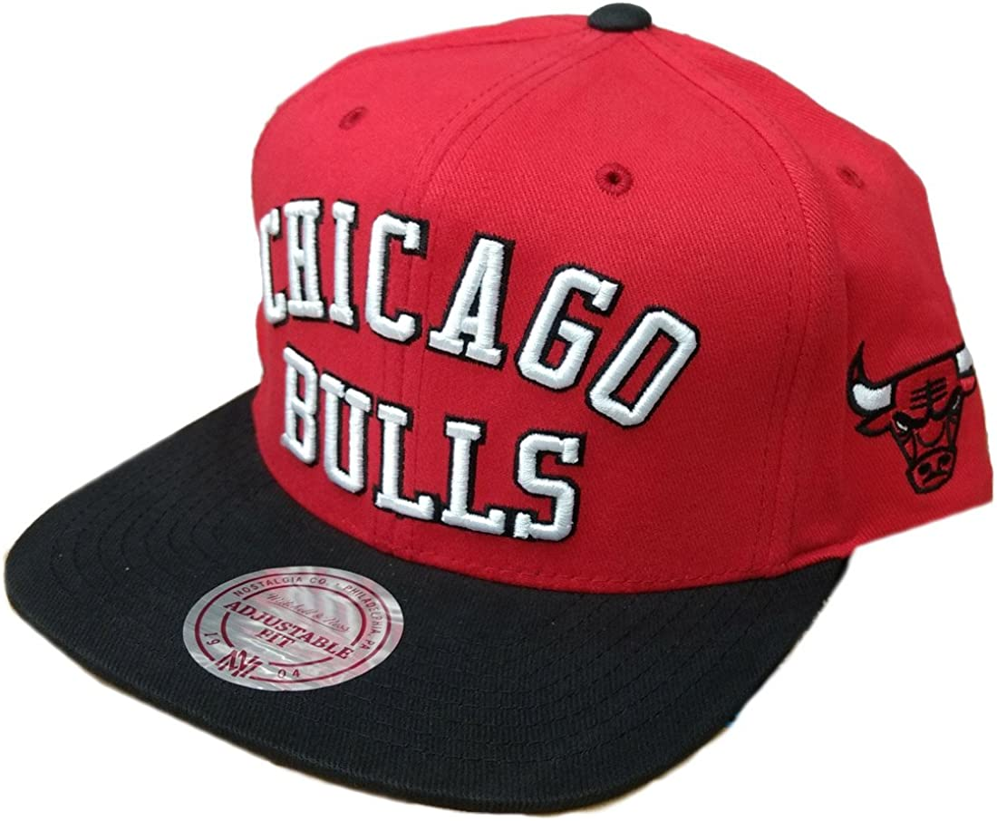 GORRA MITCHELL AND NESS NBA CHICAGO BULLS MICHAEL JORDAN MJ 23 ...