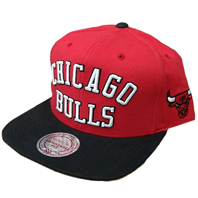 GORRA MITCHELL AND NESS NBA CHICAGO BULLS MICHAEL JORDAN MJ 23 PIPPEN: Amazon.es: Ropa y accesorios