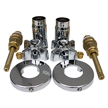 LASCO 01-9483 Sterling Old Style Two Valve Tub or Shower Trim Kit ...