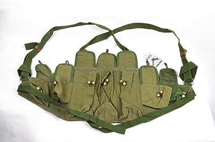 Amazon.com: Original chino PLA tipo 56 AK pecho Rig bolsa de ...