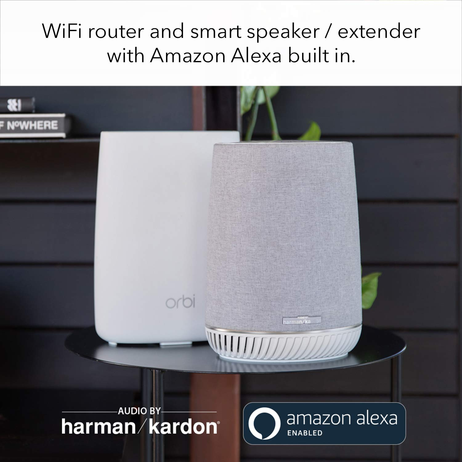 WiFi Router and 2 Wall-Plug Satellite Extenders with speeds up to 2.2 Gbps Over 5,000 sq RBK33 feet NETGEAR Orbi Wall-Plug Whole Home Mesh WiFi System AC2200