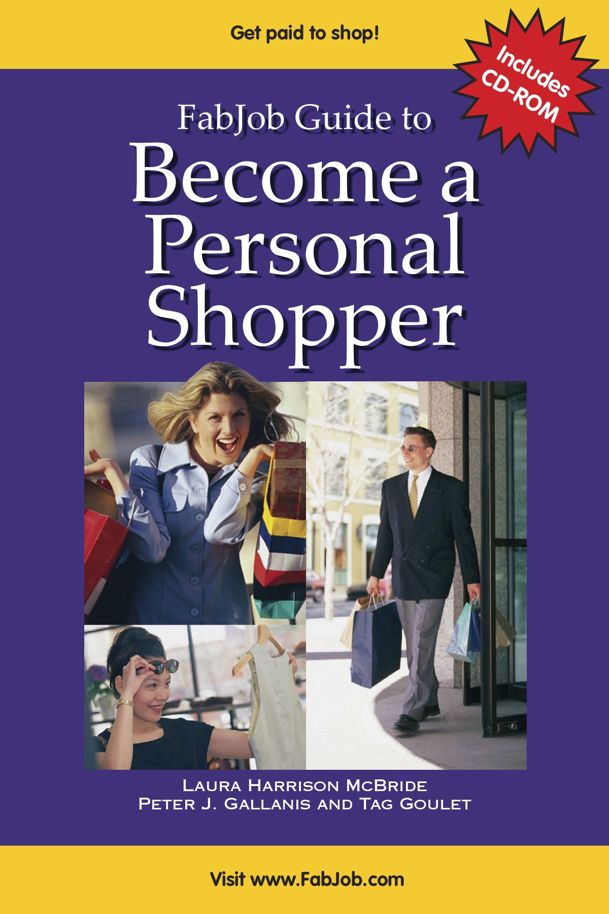 fabjob guide to become a personal shopper fabjob guides laura rh amazon com Become a Consultant From Home Sell Purses Become a Consultant