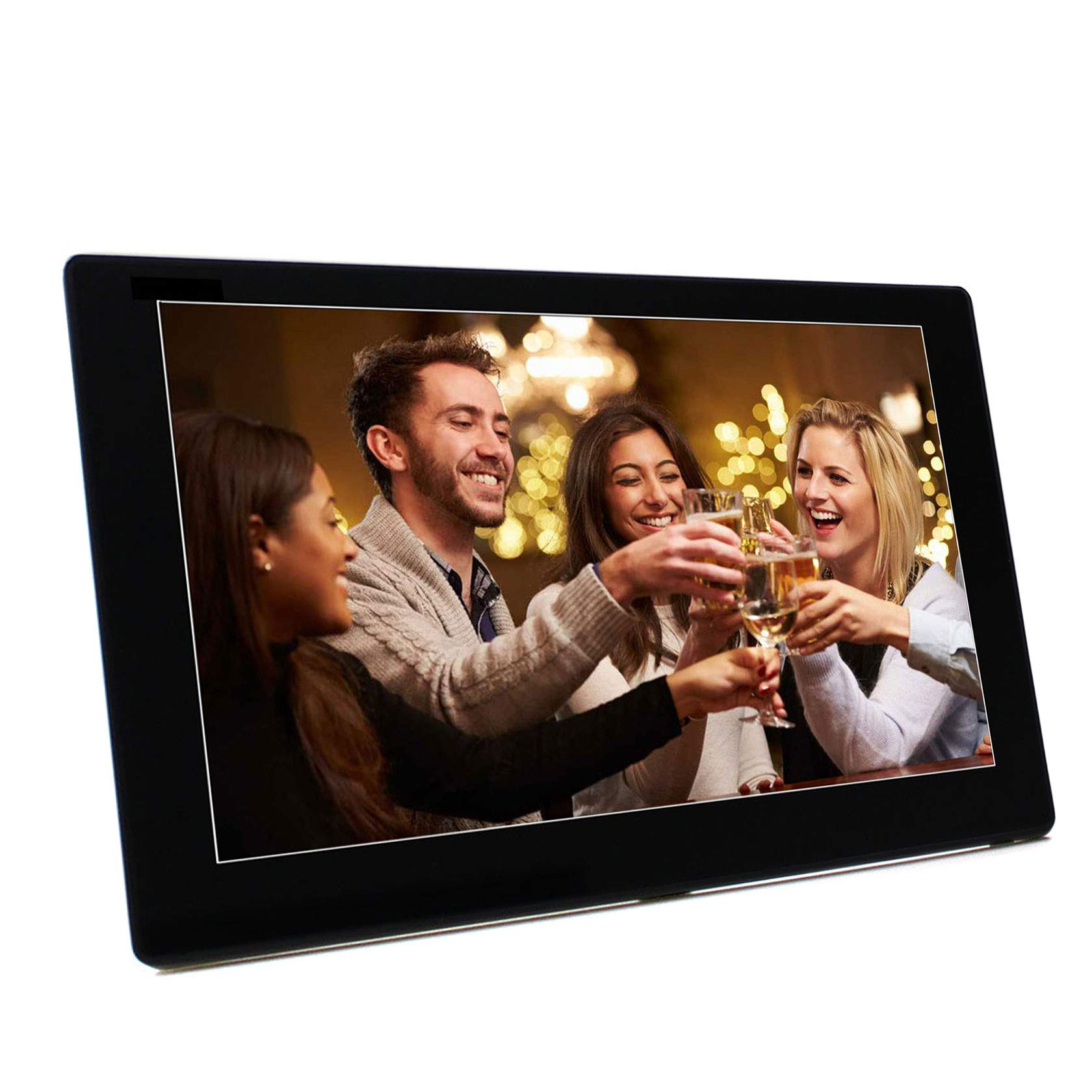 Esmartness 10 Inch WiFi Digital Photo Frame with IPS 1280x800 Display, Touch Screen, Built-in 8G Storage and Max External 64G Storage, Music Video Player Large Smart Digital Picture Frame (Black) by Esmartness (Image #6)