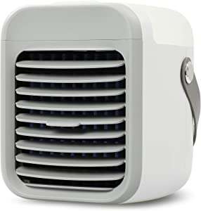 BLAUX Portable Air AC Gen 1 - Battery Powered Air Cooler with Mood Lighting   Portable AC Unit & Evaporative Cooler   Personal AC & Portable Air Cooler for Room   Mini AC