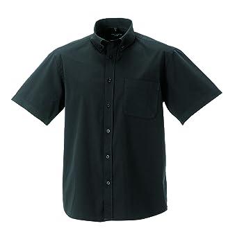 Z917M Russell Collection Kurzärmeliges Twill-Herrenhemd - bis Gr. 4XL 3XL /  47/