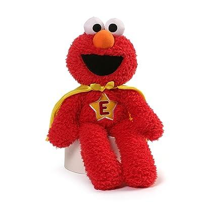 Sesame Street Sesame Street Elmo Superhero Take Along Plush: Toys & Games