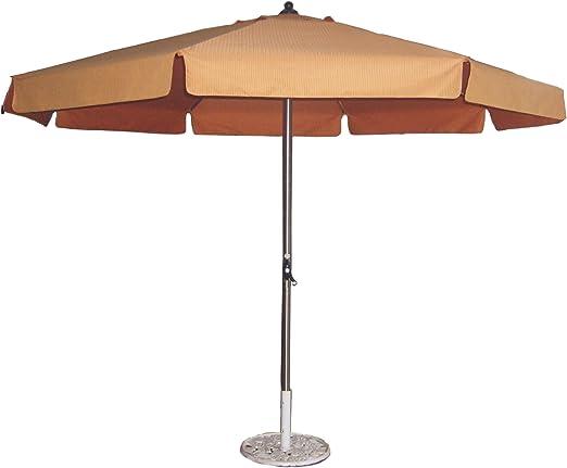 Sombrilla para jardín de acero inoxidable. Diámetro 300 cm.: Amazon.es: Jardín