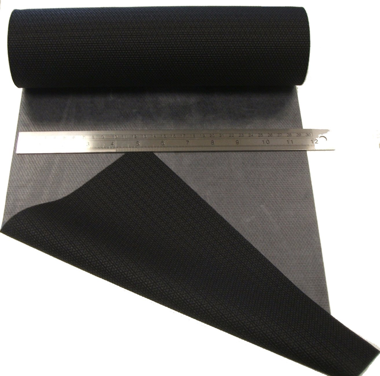 0,5 metros Repare Patch Material de Melco T-5500 -traje isotérmico / traje seco, Scuba - adhesivo termofusible, aplicar con plancha eléctrico (Negro, 300 mm Ancho) WBM Seam Tapes T-5500-300-BK