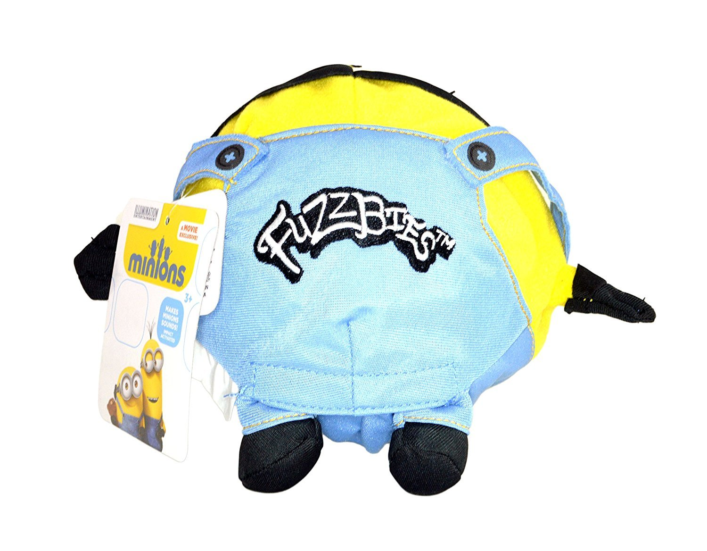 Nightzone light up rebound ball - Amazon Com The Minions Stuart Fuzzbie Despicable Me 7 Minion Fuzzbies One Eye Toys Games