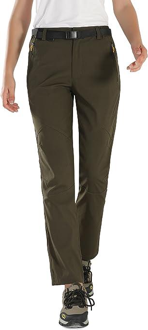 Donna pantalone TREKKING OUTDOOR Wanderhose SOPRT Pantaloni da campeggio
