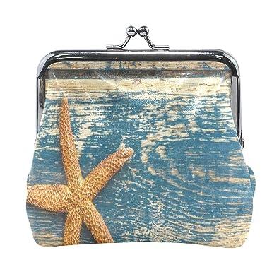 Amazon.com: Monedero de verano, diseño de estrella de mar ...