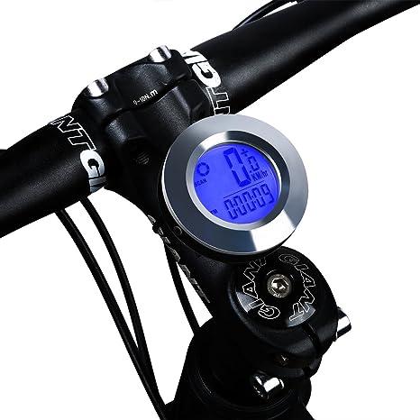 Ordenador de bicicleta, West bicicleta odómetro velocímetro para ...