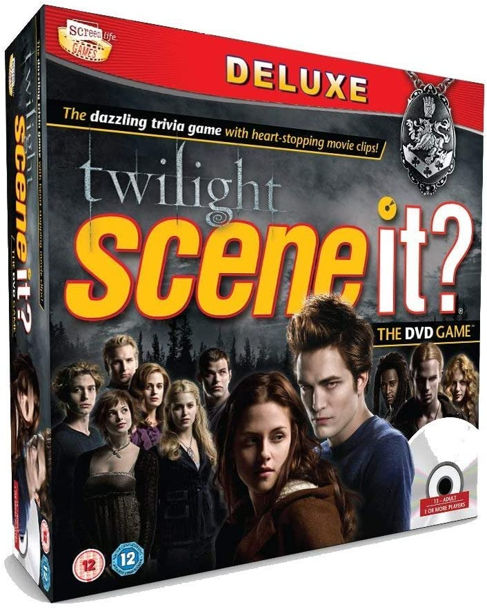 Scene It? Game - Twilight Deluxe Edition