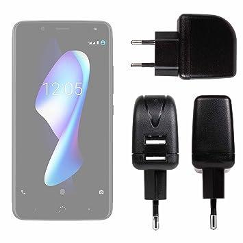 DURAGADGET Cargador con Enchufe Europeo para Smartphone BQ ...