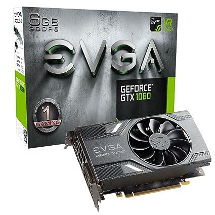 EVGA 06G-P4-6161-KR - Tarjeta gráfica (GeForce GTX 1060,