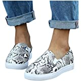Padaleks Womens Canvas Shoes Flats Sports Running Shoes Summer Plaid Print Student Loafers Casual Sneakers