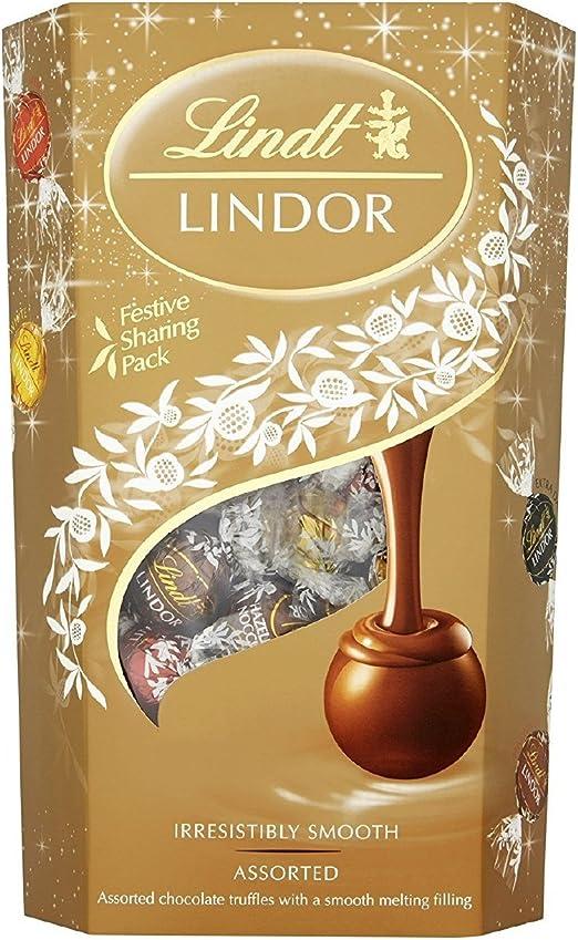 Lindt Lindt Lindor Caja de trufas de chocolate con leche Chocolate ...