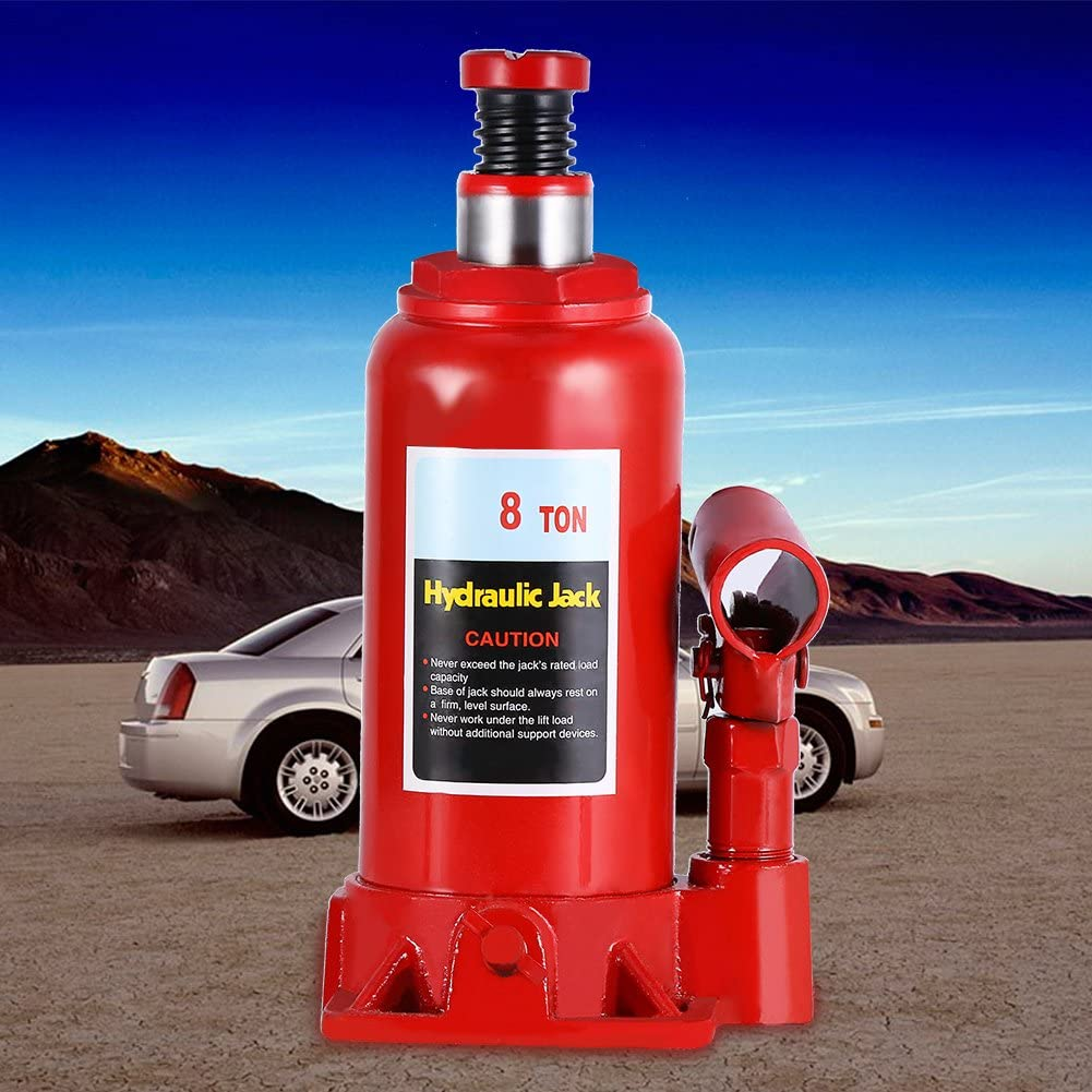 Zerone Hydraulic Cricco Hydraulic Lift Jack Bottle Existing for Small and Large Vehicles Tyre Change 8T