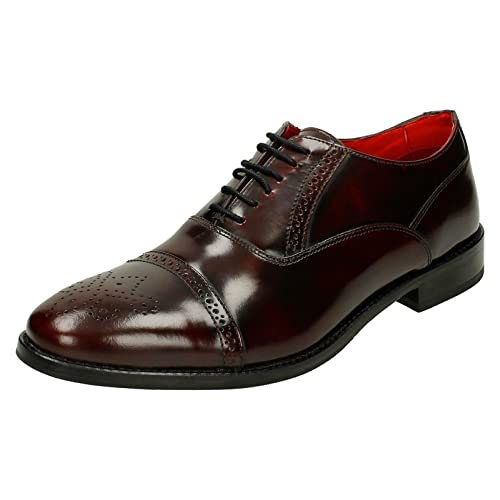 2bea2a57621 Base London Mens Smart Shoes Noel Hi Shine  Amazon.co.uk  Shoes   Bags