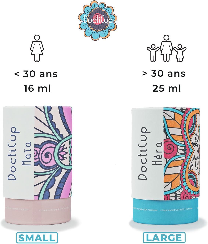 DoctiCup - Copa Menstrual - Silicona Médica