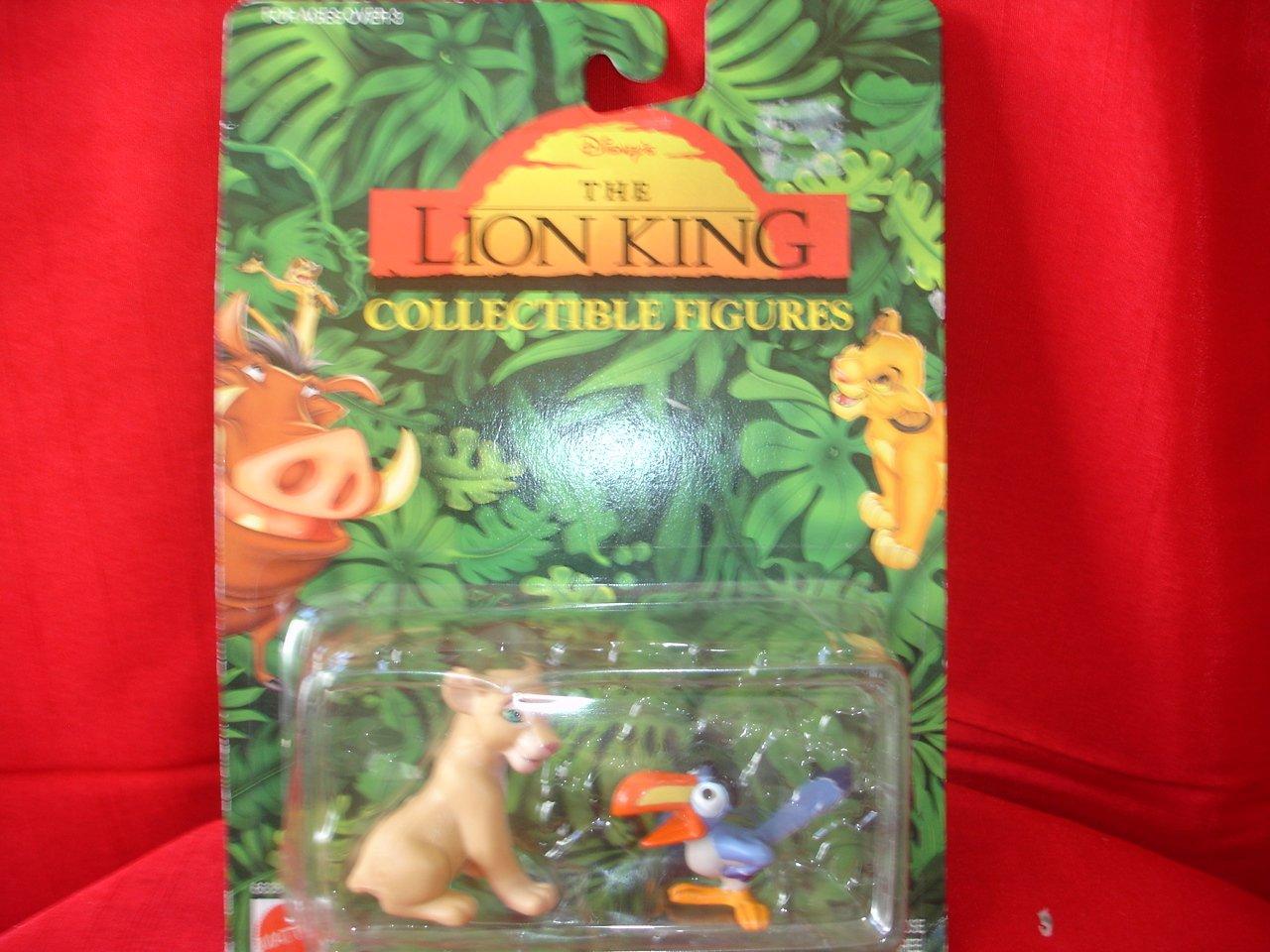 LION KING FIGURE NALA AND ZAZU MATTEL