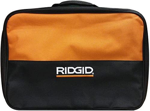 RIDGID 902048009 Contractor Tool Bag 13.5 x 9.5 x 4.5 In. Fits X4 Impact Driver, Charger and Batteries