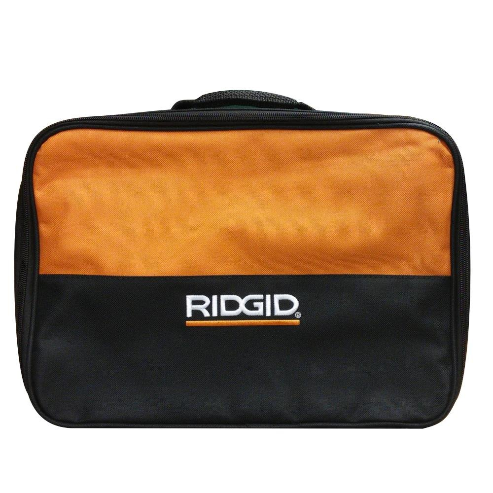 RIDGID 902048009 Contractor Tool Bag 13.5 x 9.5 x 4.5 In. Fits X4 Impact Driver Charger and Batteries