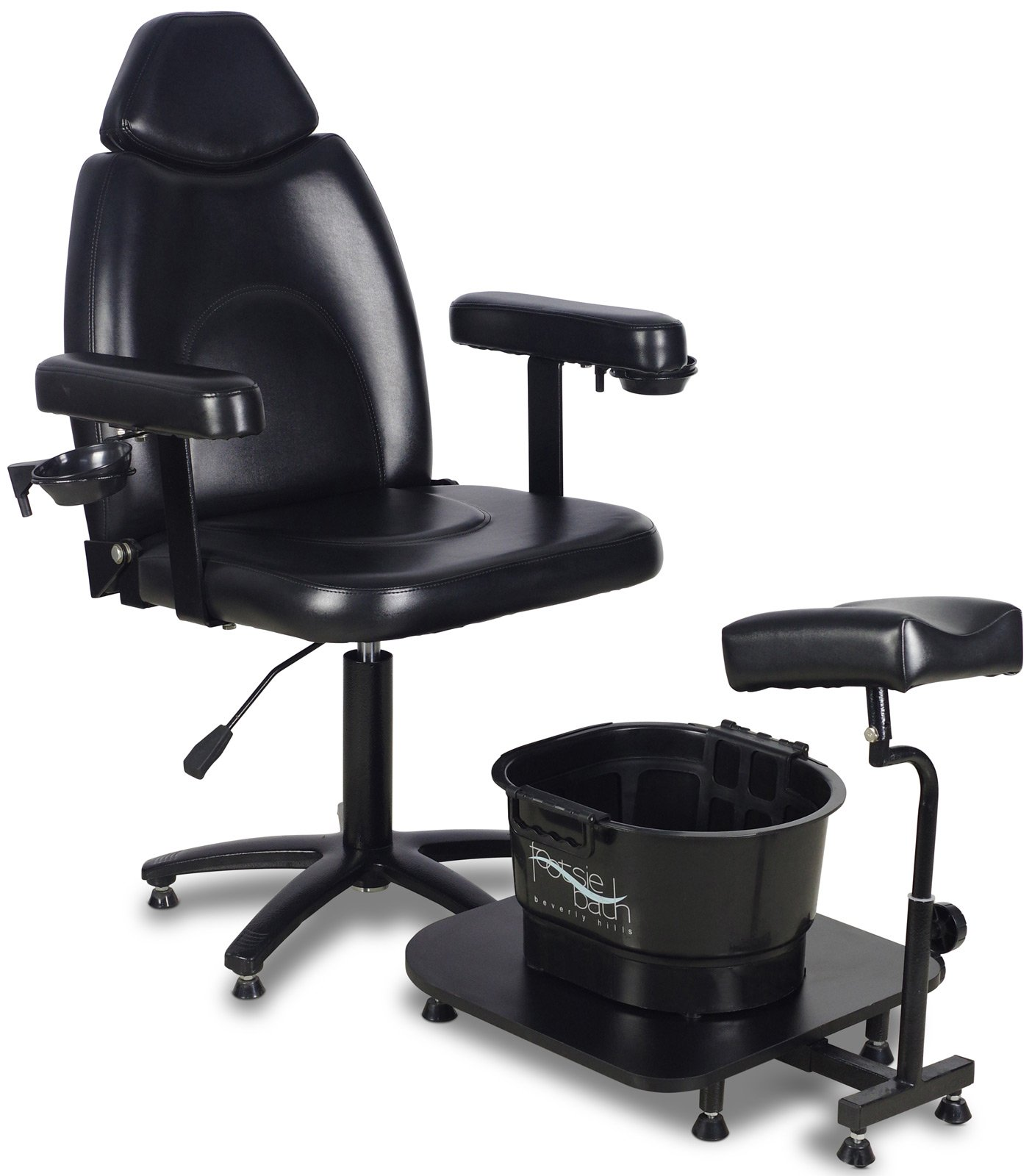 Icarus ''Zenith'' Black Pedicure Foot Spa Station Chair by Icarus (Image #1)