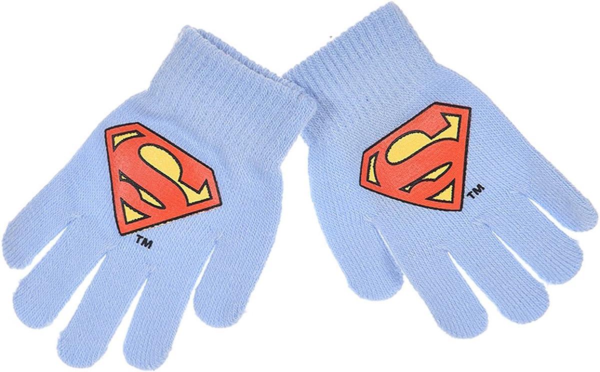 Gants enfant gar/çon Superman 8 couleurs Taille unique 3//8ans