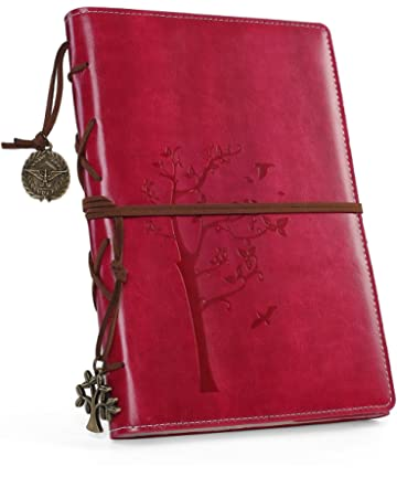 Amazon.com : Leather Journal, MaleDen Vintage Spiral Bound ...
