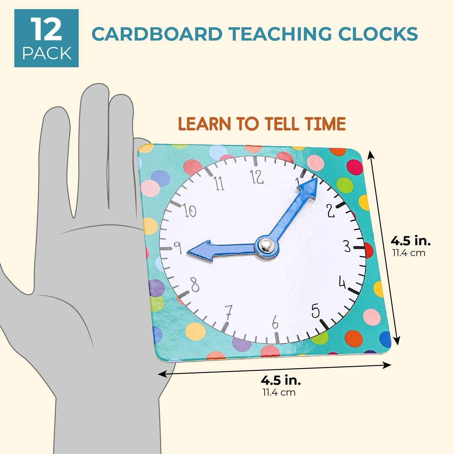 Teaching Clocks 2 Designs Juvale 12 Pack Learn To Tell Time Teaching Clock For Kids And Students 4 5 Inches Toys Games Stevesdogtraining Co Uk An inch was defined to be equivalent to. steves dog training