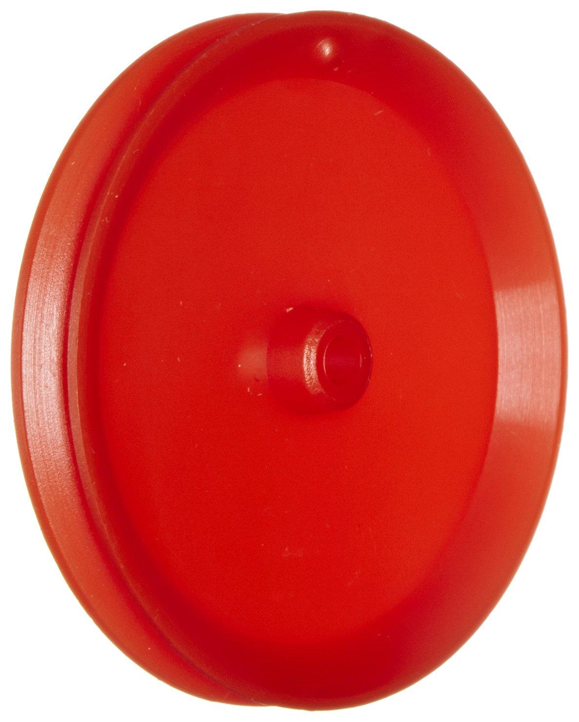 Ajax Scientific Plastic Loose Pulley, 50mm Diameter, 4mm Center Hole Diameter (Pack of 10) ME410-0050S