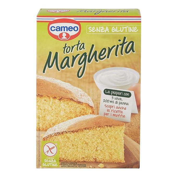 Cameo - Preparado para la torta margherita gluten 364g gratuito: Amazon.es: Alimentación y bebidas
