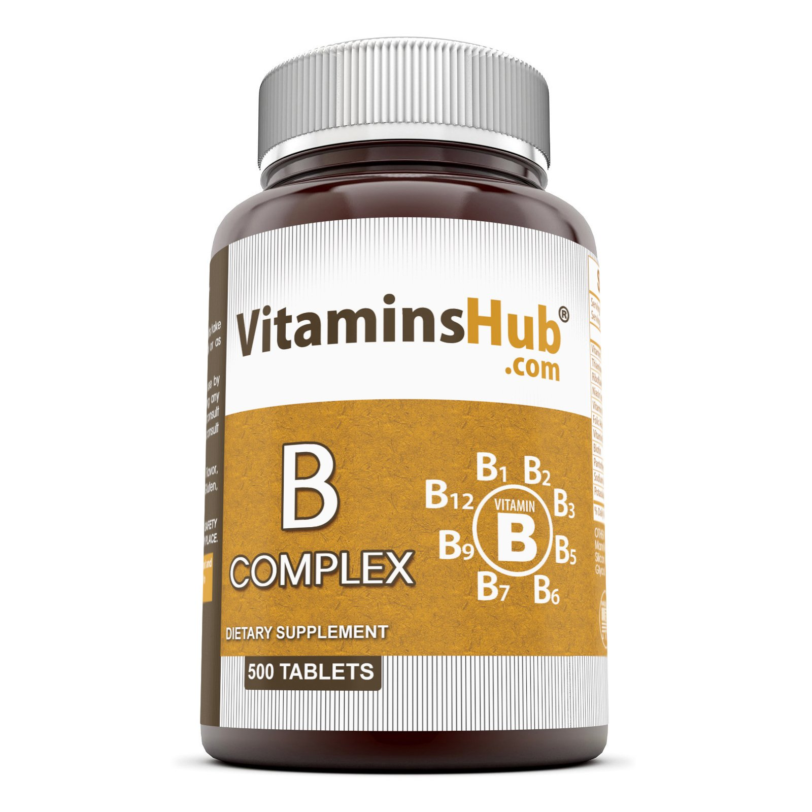 Vitaminshub One Per Day Super B-Complex with Electrolytes 500 tablets ( Value Pack )