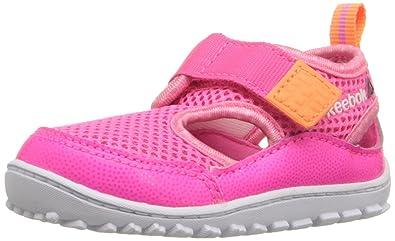 Reebok Ventureflex Sandal III (Little Kid/Big Kid), Solar Pink/Electric