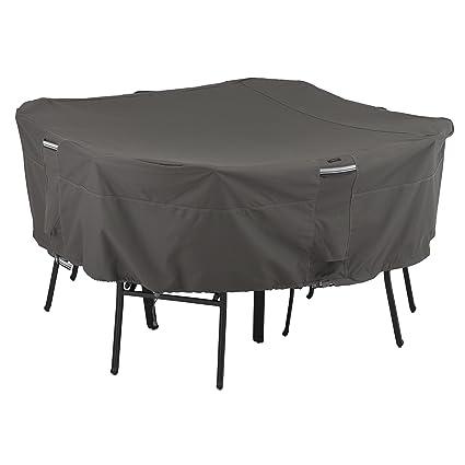 Amazon Com Classic Accessories Ravenna Square Patio Table Chair