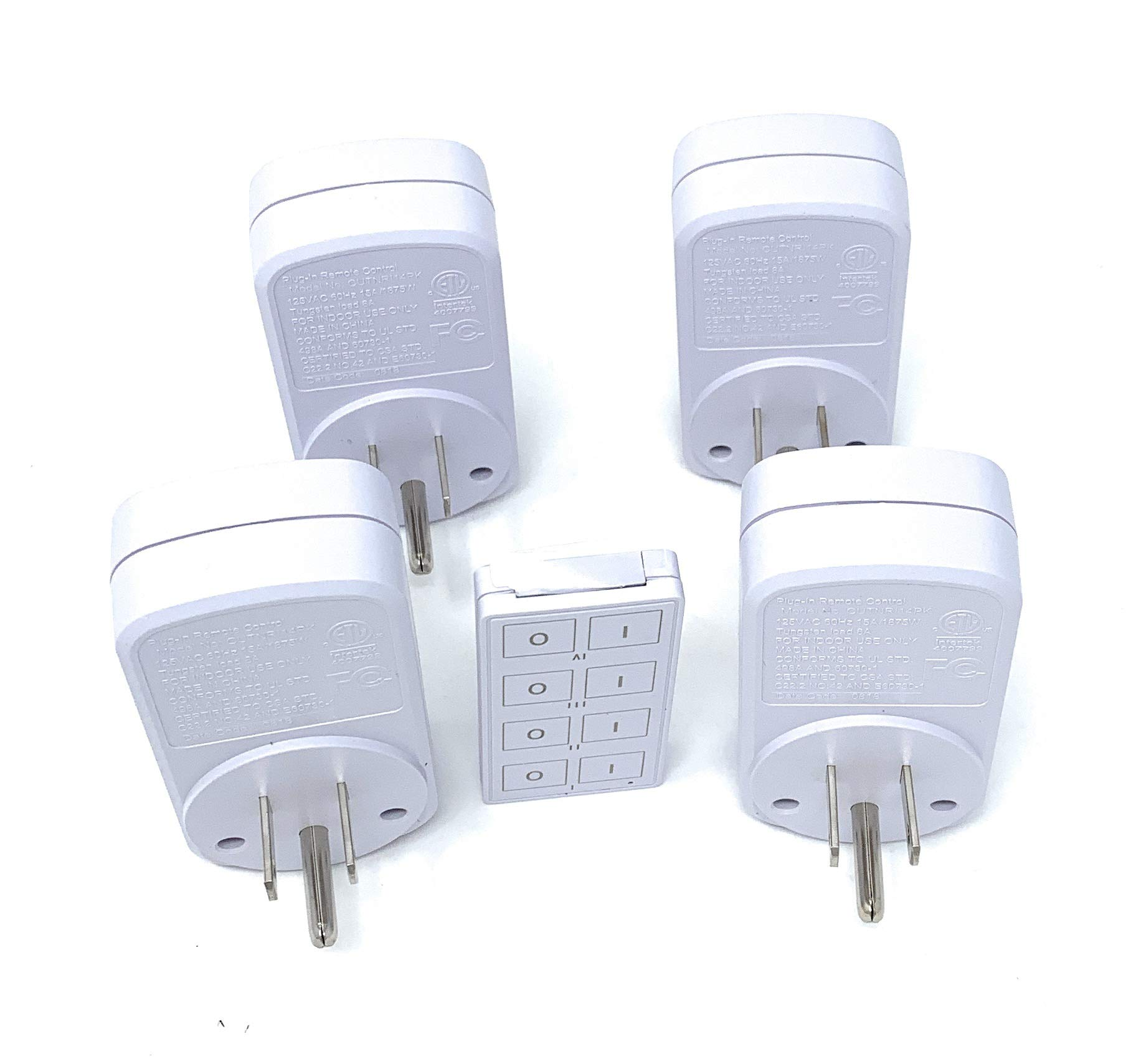 Black Friday Deal: Prime Wireless Indoor Remote Controlled Outlets (100ft Range) by Prime (Image #4)