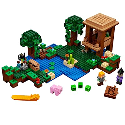 LEGO Minecraft The Witch Hut 21133: Toys & Games