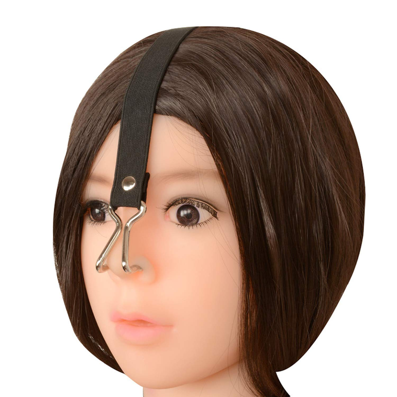HJOIL Shirts Toys Nose Hook Women Slave Training Elastic Strap Stainless Steel Adjustable Erotic Slut Gear Adǔlt Sèx Toy for Couples