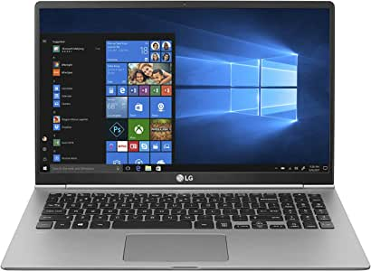 "LG gram Laptop - 15.6"" Full HD Display, Intel 8th Gen Core I5, 8GB RAM, 256GB SSD, 21.5 HRs Battery - 15Z990-U.AAS5U1 (2019), Dark Silver"