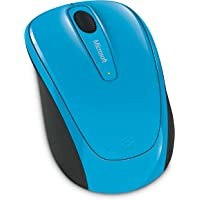 Microsoft Wireless Mobile Mouse, GMF-00275, Cyan Blue